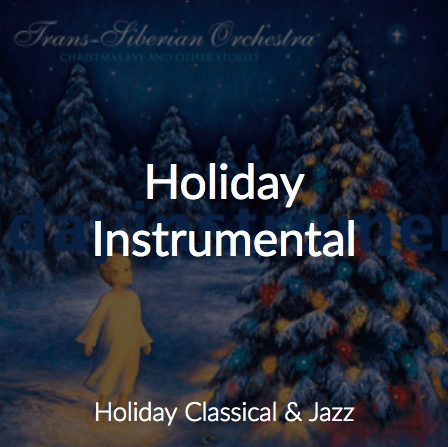Cloud Cover Music's Holiday Instrumental Station
