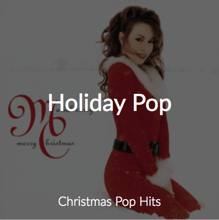 Cloud Cover Music's Holiday Pop Station