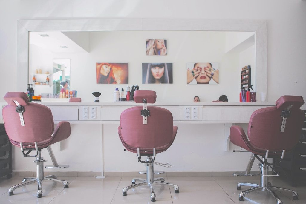 Legal music plays in salons that use Cloud Cover Music.